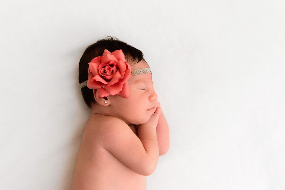 Reportaje fotografico recién nacido en Sevilla
