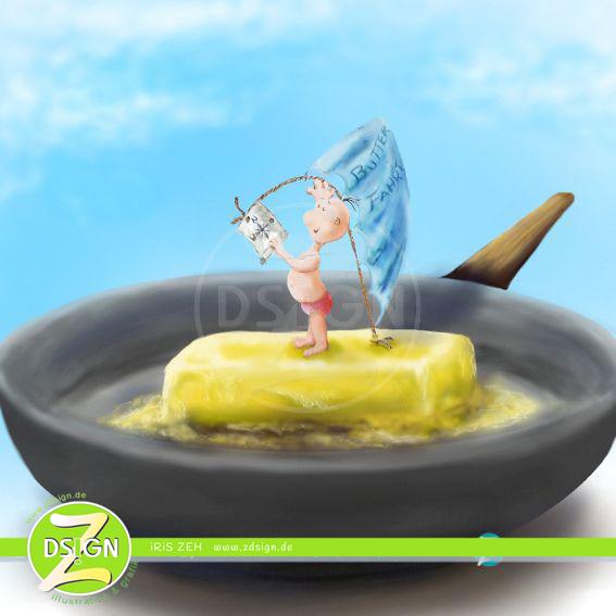 fahrt-auf-butter-in-heißer-pfanne-zum-thema-gute-und-schlechte-fette