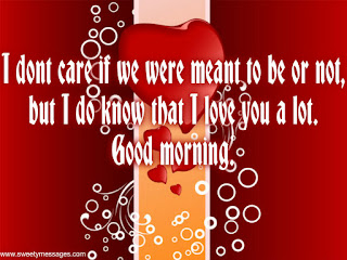 i love you good morning