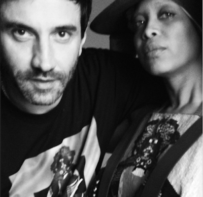 http://yodonbleekraps.com/2013/12/11/diversity-in-the-fashion-industry-erykah-badu-is-the-new-face-of-riccardo-tiscis-givenchy-clothes/