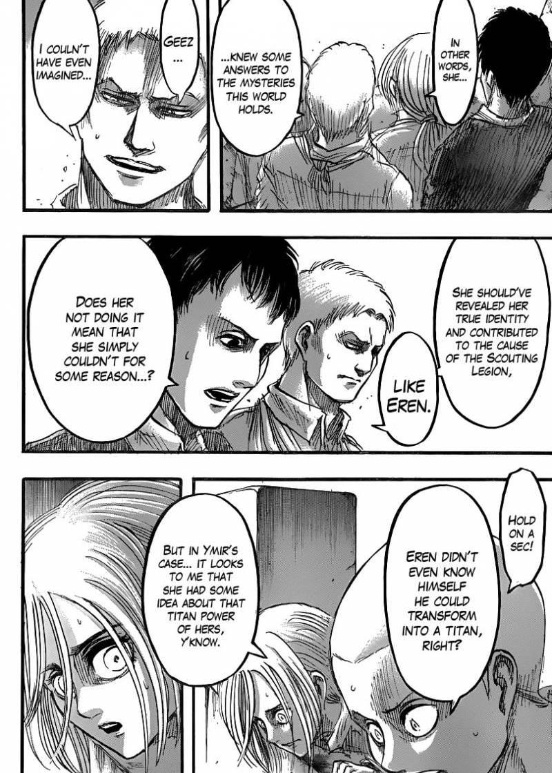 Shingeki no Kyojin Ch 41: Historia