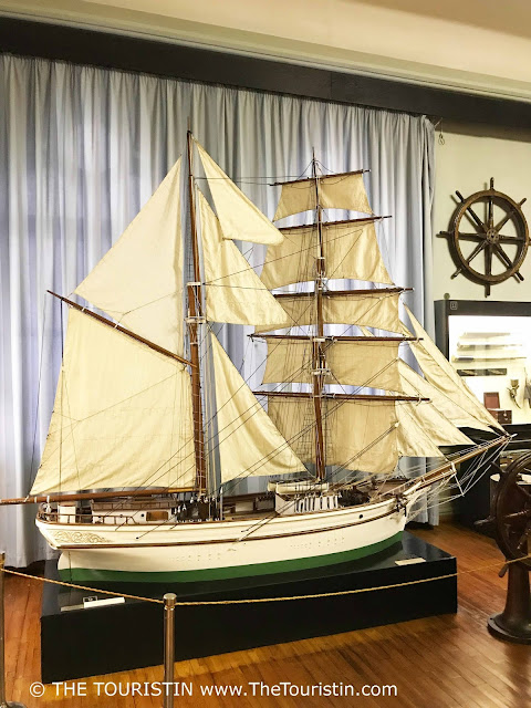 Museum of the History of Riga and Navigation ship replica model