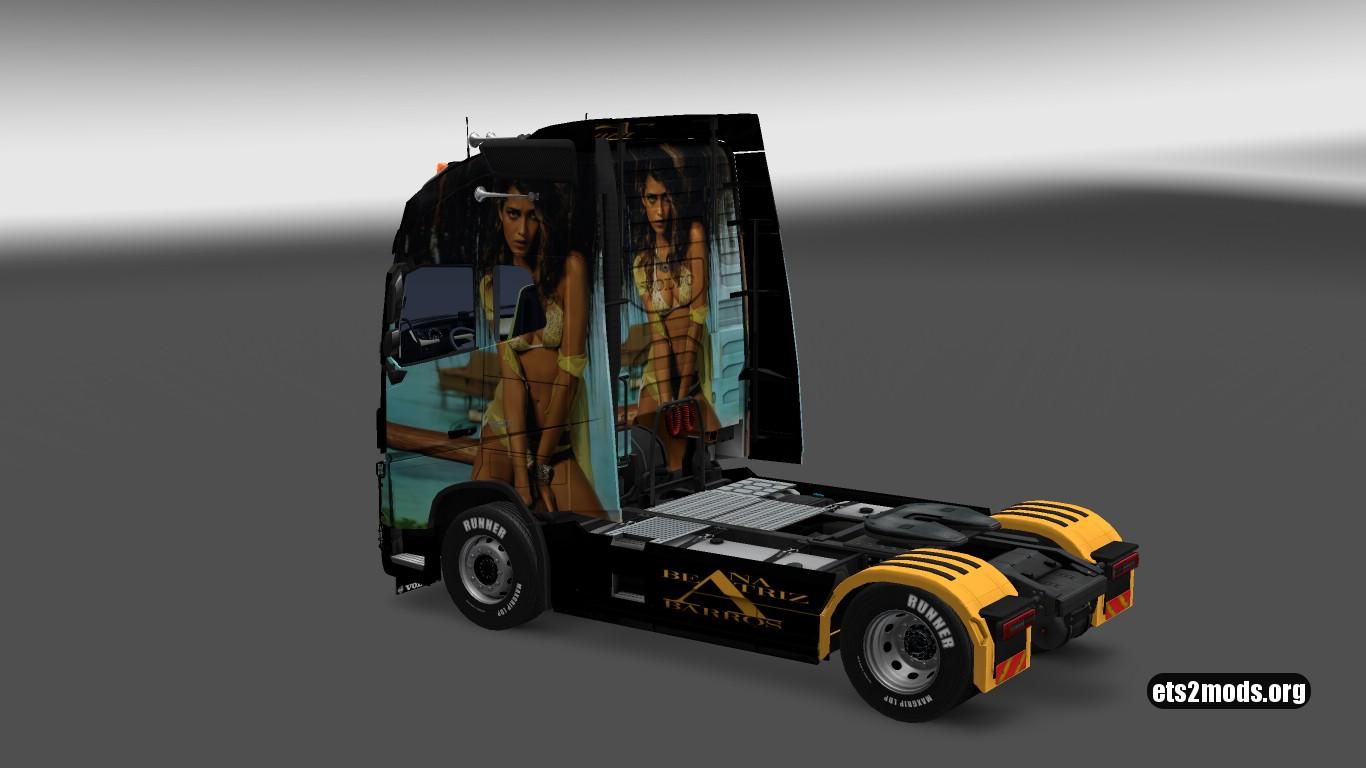 Ana Beatriz Barros Skin for Volvo 2012 & 2013