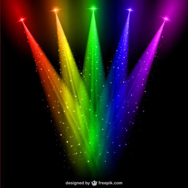 Todopara3d luces ies for Luces de colores