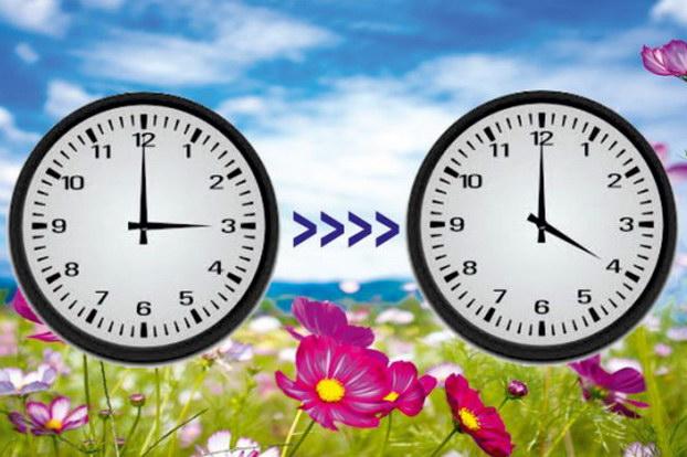 Θερινή ώρα από τα ξημερώματα της Κυριακής