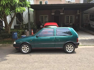 Fiat UNO 2 Turbo After Repaint..