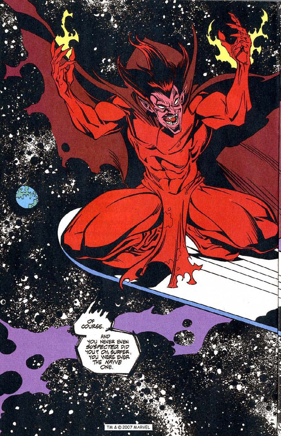 Read online Silver Surfer (1987) comic -  Issue #100 - 4