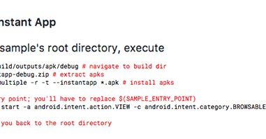 Android Developers Blog: Introducing Android Instant Apps SDK 1 1