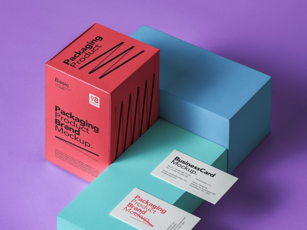 Boxes Packaging Mockup