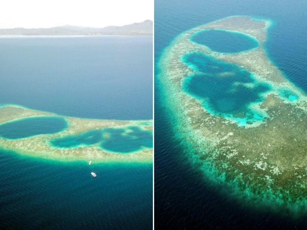 Lokasi Blue Hole Sabah