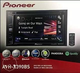 للبيع على وجه السرعة كاسيت عربة وارد أمريكا Pioneer Car Cassette CAVH-X39 Bluetooth touch screen DVD/FM