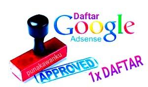 Cara Sekali Daftar Google Adsense Langsung Di Terima Full Approve