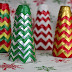 DIY Christmas: Duck Brand Duct Tape Chevron Christmas Trees