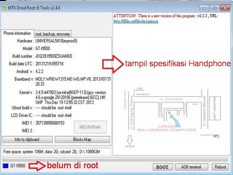 Bali Service Computer Backupan Rom Handphone