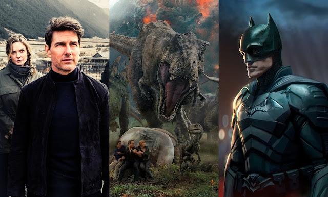 Jurassic World 3, The Batman & mais retomam as filmagens no Reino Unido