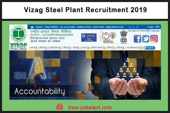 Vizag Steel Plant Recruitment 2019: Rashtriya Ispat Nigam Limited invites Applications for Management Trainee (HR & Marketing)