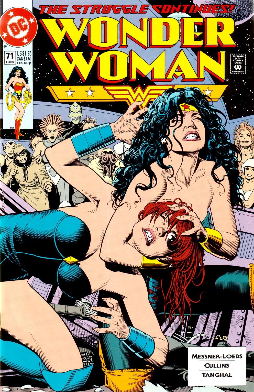 Read online Wonder Woman (1987) comic -  Issue #71 - 1