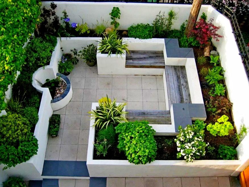 19 Photo Desain Taman Minimalis Untuk Rumah Bernuansa Modern Ifabrix