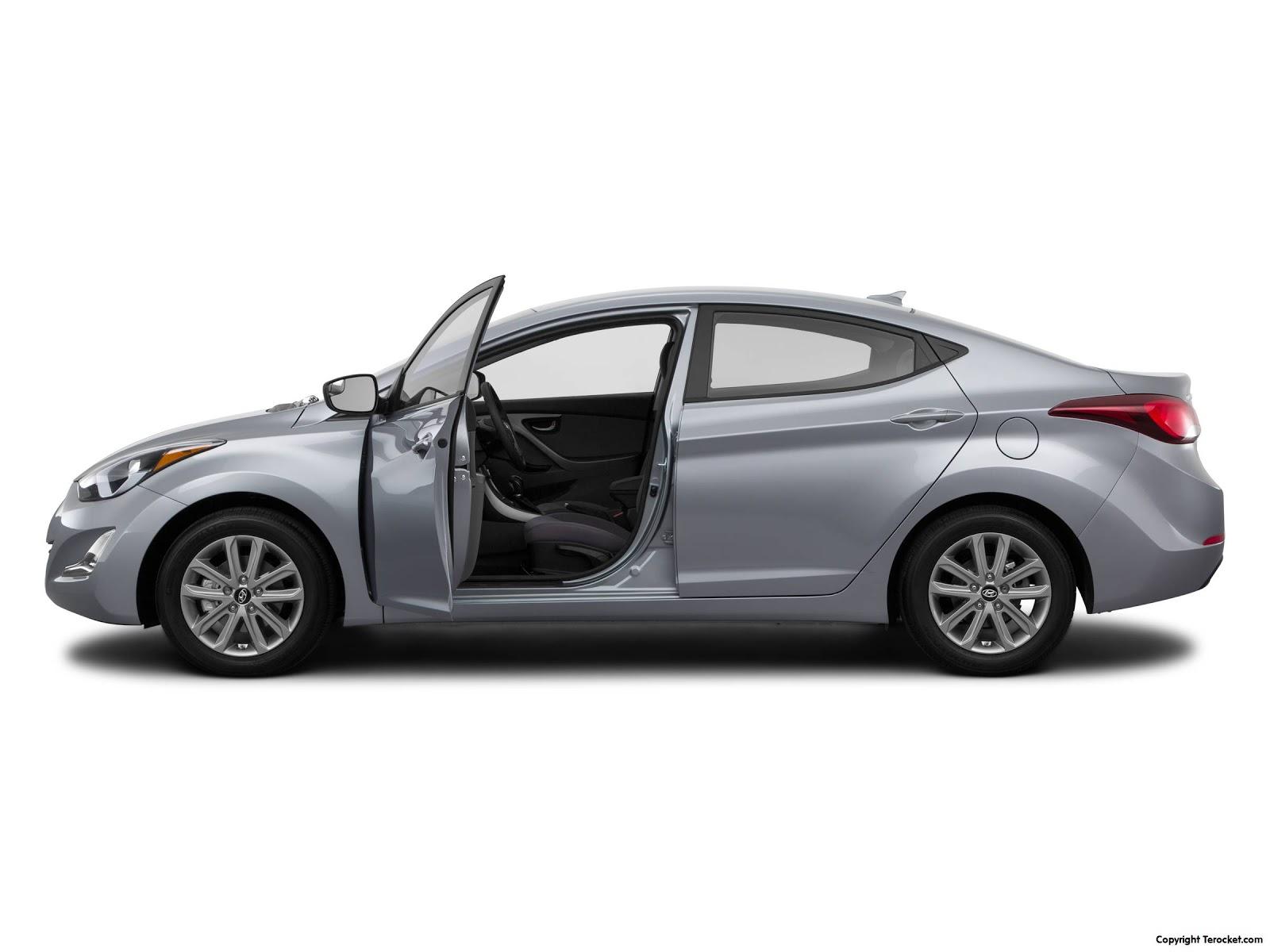 Nội thất của Hyundai Elantra 2016 rộng rãi cho 5 người