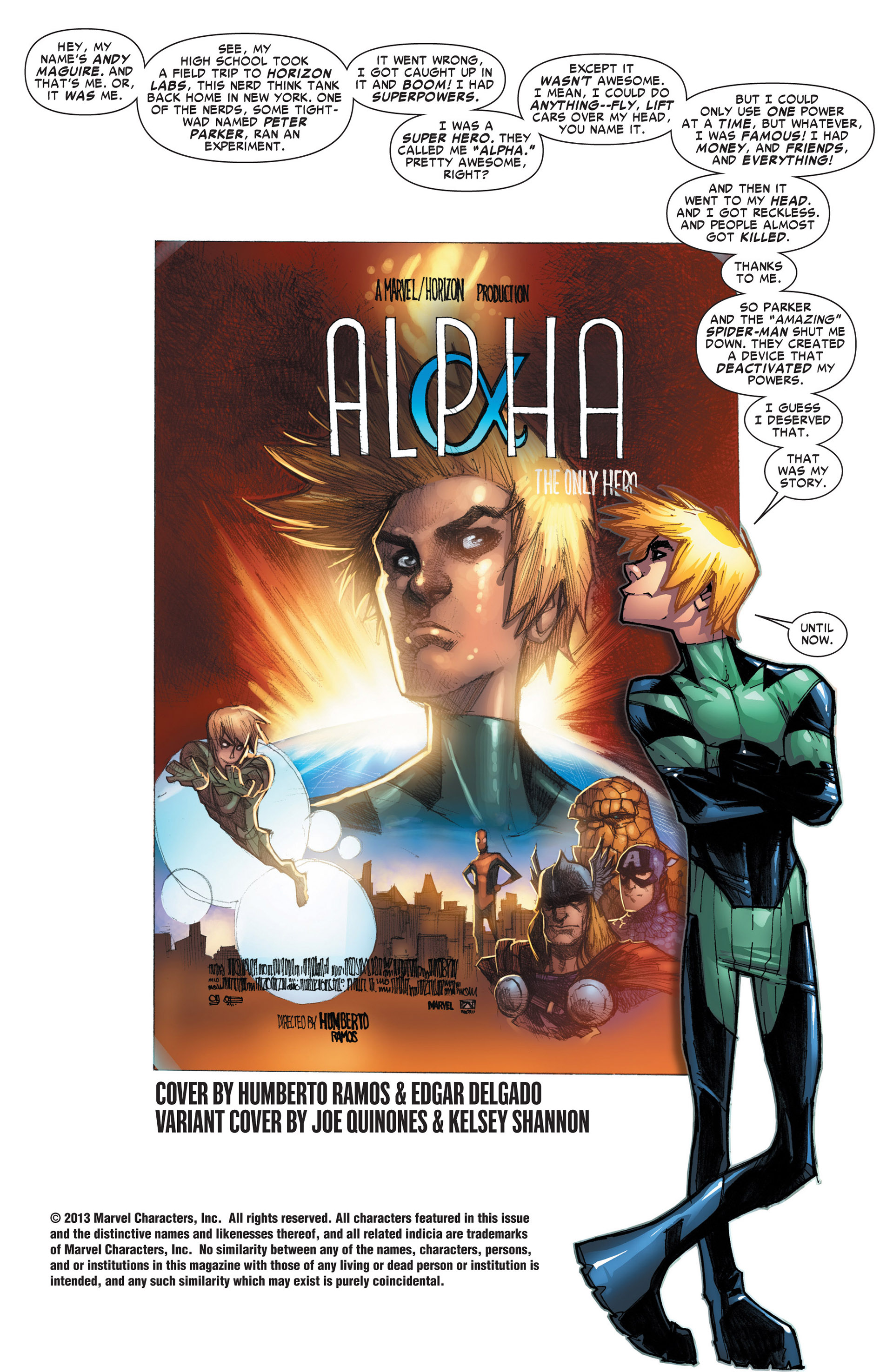 Read online Alpha - Big Time comic -  Issue #1 - 2