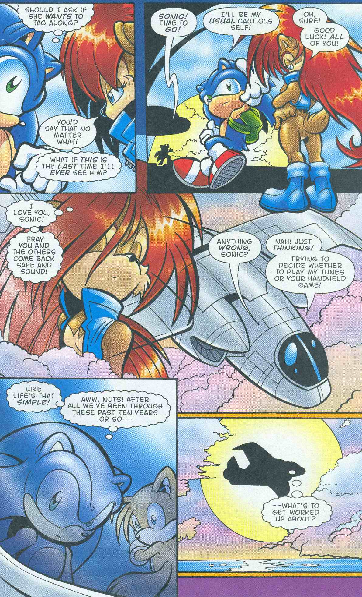Read online Sonic The Hedgehog comic -  Issue #145 - 24