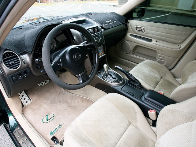 P Z Lexus Is Interior View