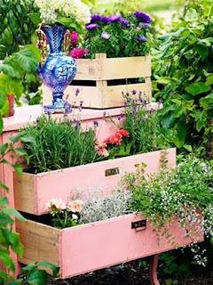 Cômoda jardineira