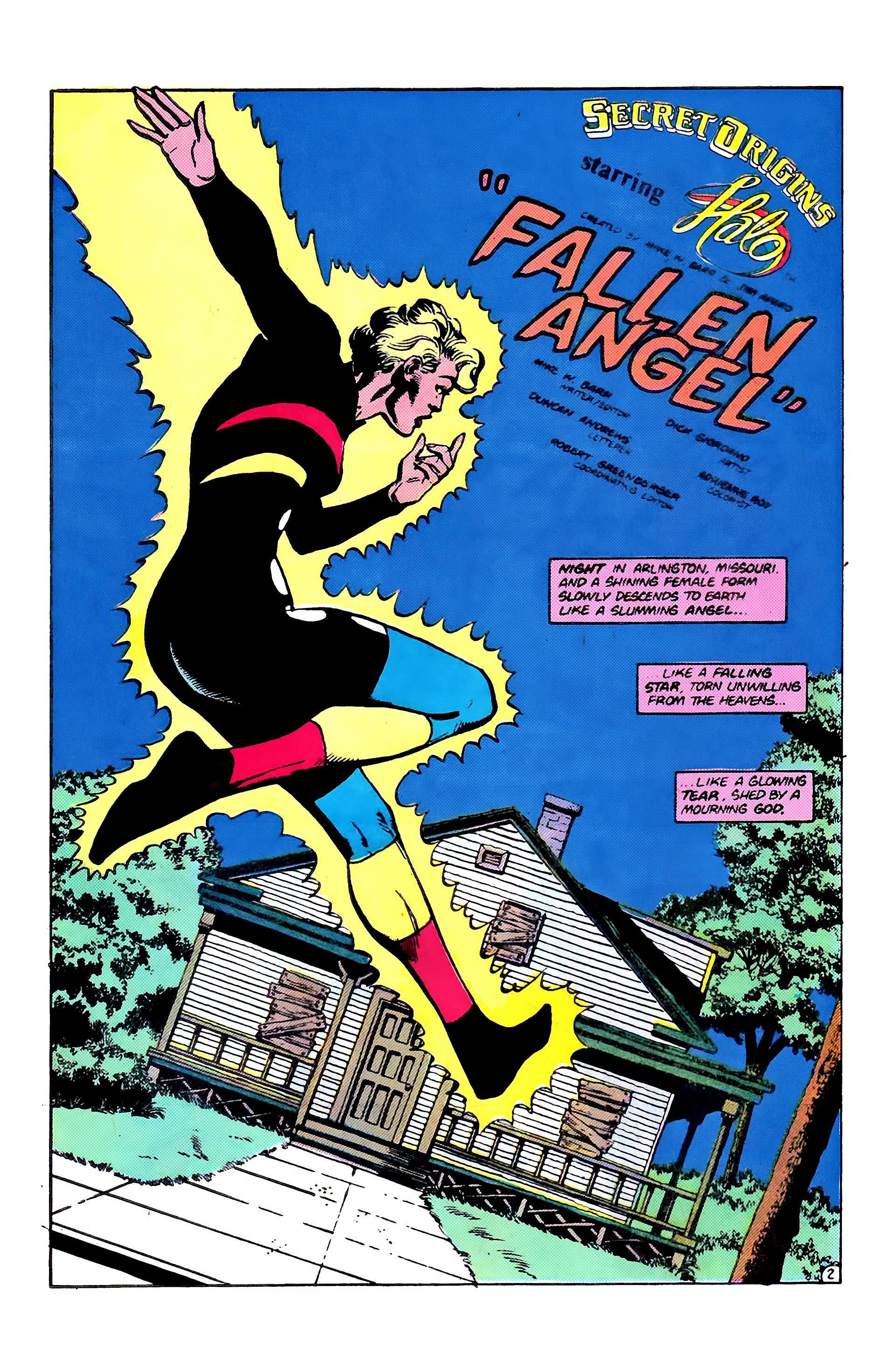 Read online Secret Origins (1986) comic -  Issue #6 - 28