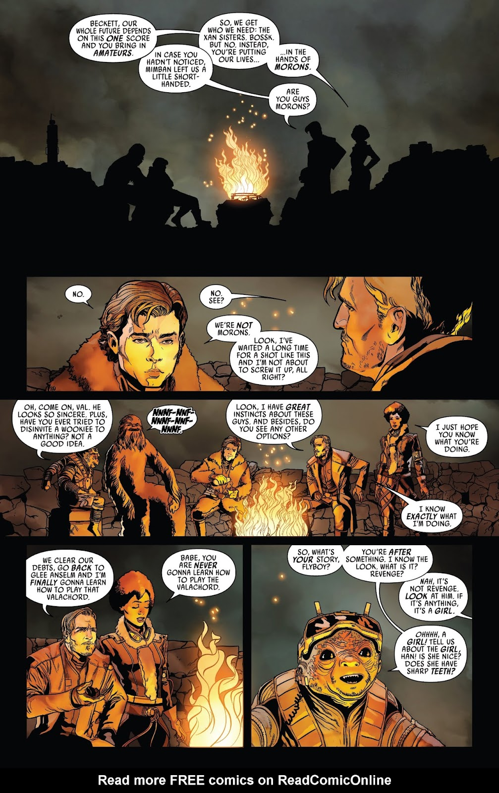 Read online Solo: A Star Wars Story Adaptation comic -  Issue #2 - 10