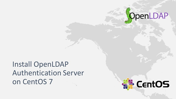 Install OpenLDAP Authentication Server on CentOS 7
