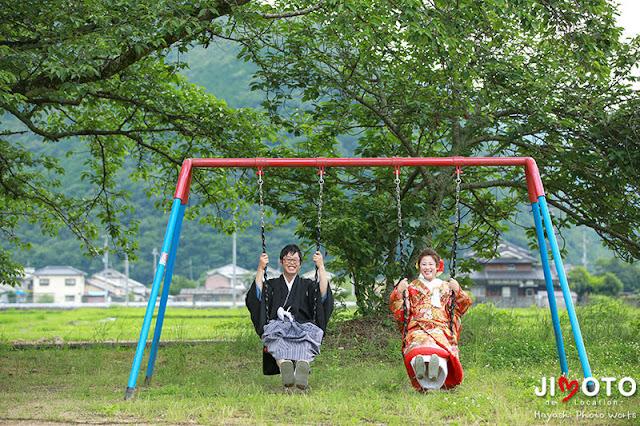 兵庫県たつの市|地元で前撮り撮影