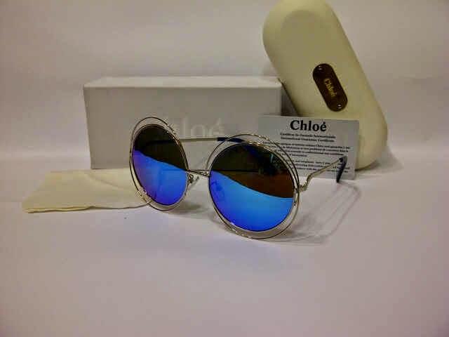 Jual Kacamata Chloe Bulat KW grade super murah  5c9791effc