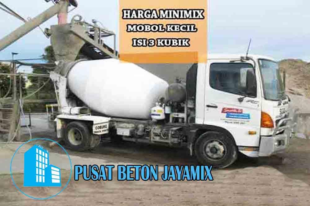 HARGA BETON MINIMIX JAKARTA PER M3 TERBARU 2020