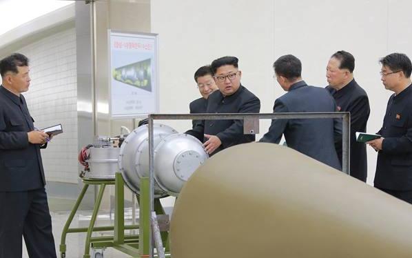 Ilmuwan China Perkirakan Bom Nuklir Korut Lebih Kuat 7,8 Kali Bom Atom Hiroshima
