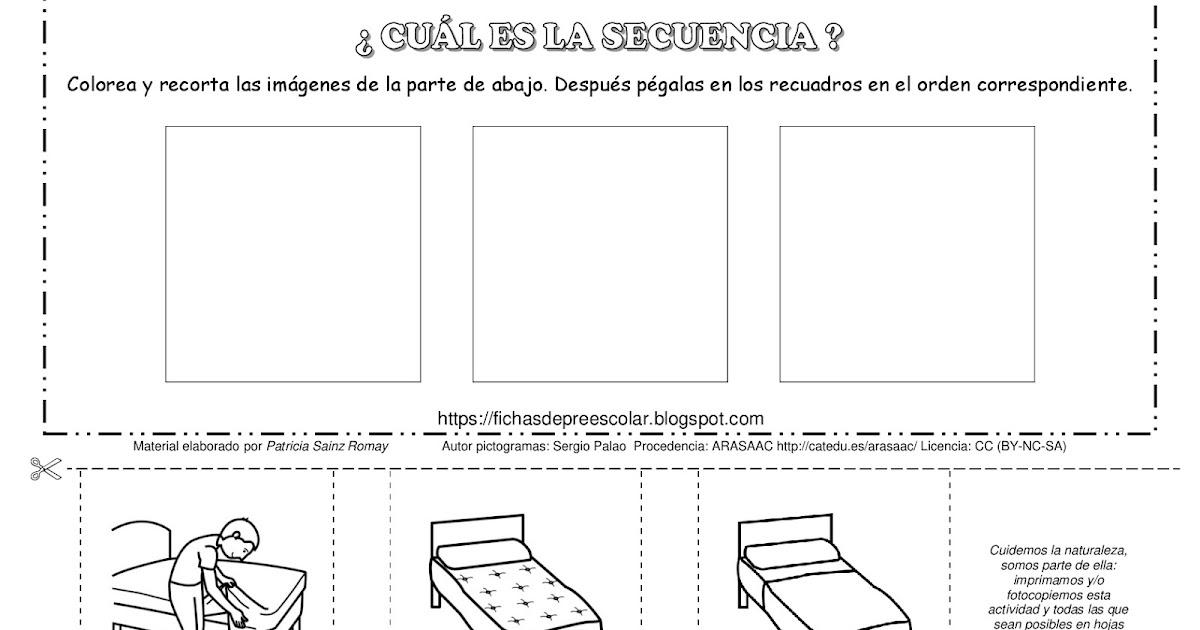 Asombroso Ideas Hojas De Trabajo De Secuenciación Cresta - hojas de ...