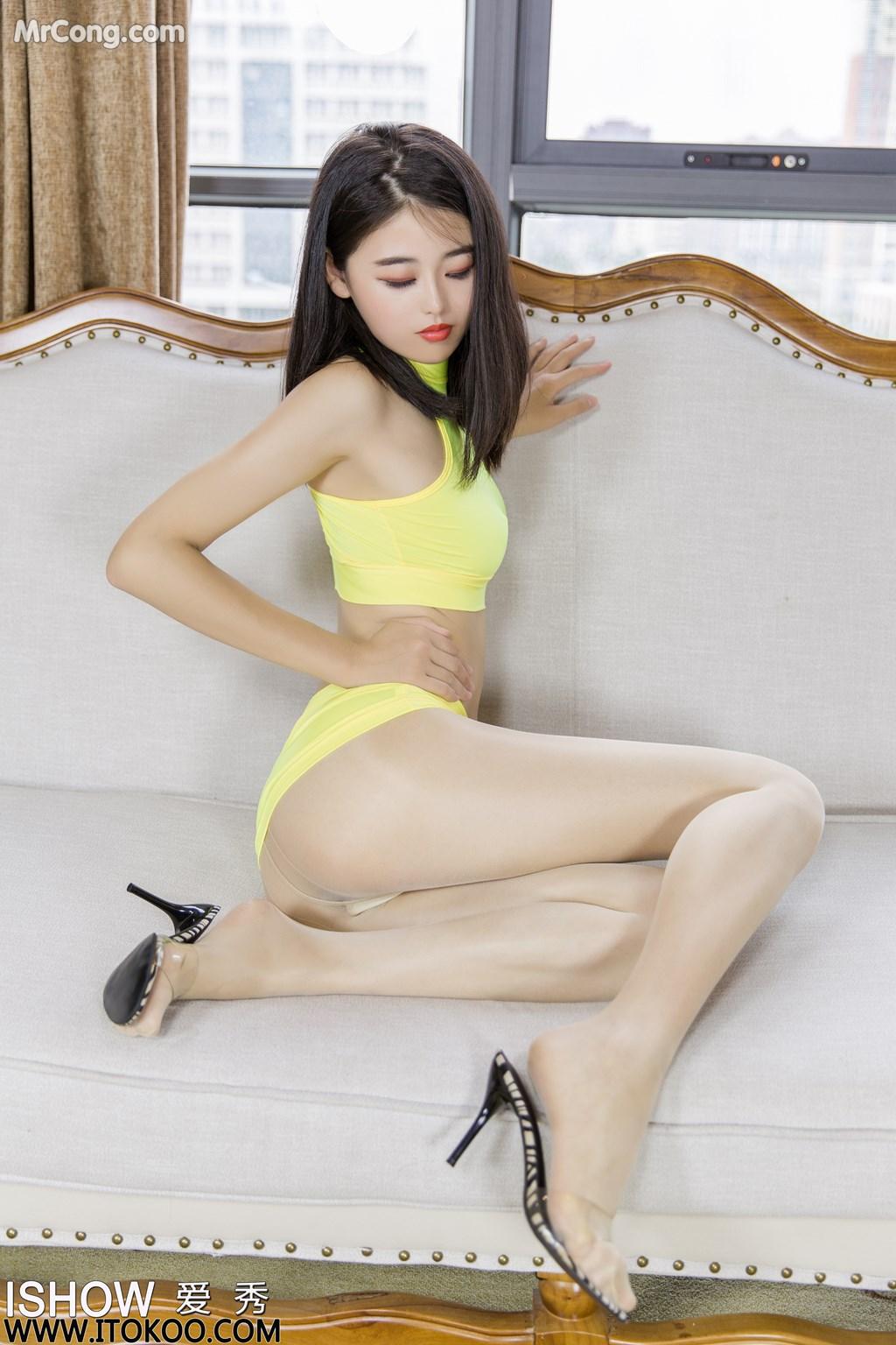 Image ISHOW-No.176-Liu-Yue-Fei-Phoebe-MrCong.com-009 in post ISHOW No.176: Người mẫu Liu Yue Fei (刘玥菲Phoebe) (31 ảnh)