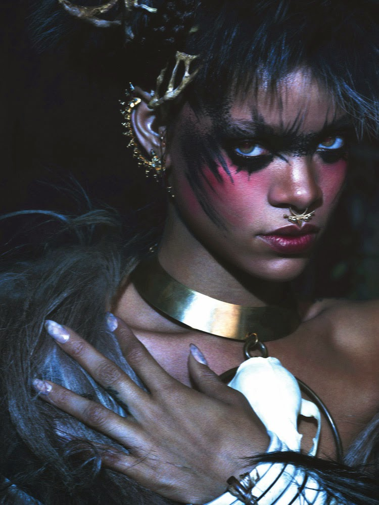 Rihanna poses for W Magazine's September 2014