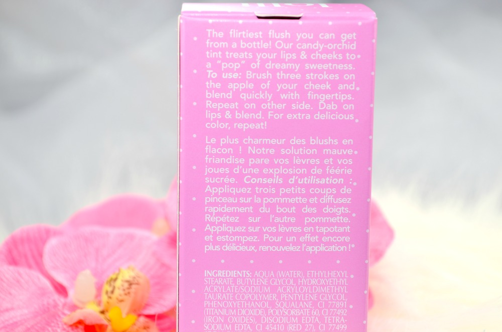 Image of the product packaging with ingredients and directions