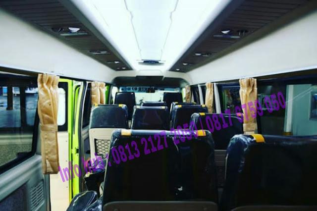 jual micro bus termewah mitsubishi pariwisata 2019