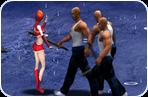 لعبة قتال و مصارعة العصابة