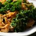 Pasta con Pollo y Kale