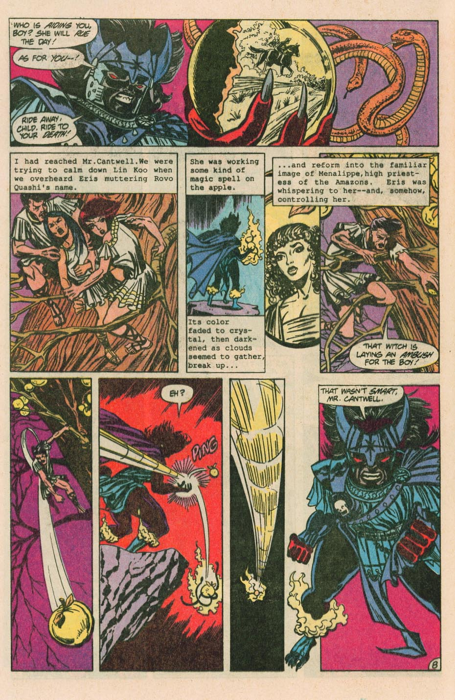 Read online Wonder Woman (1987) comic -  Issue #40 - 10