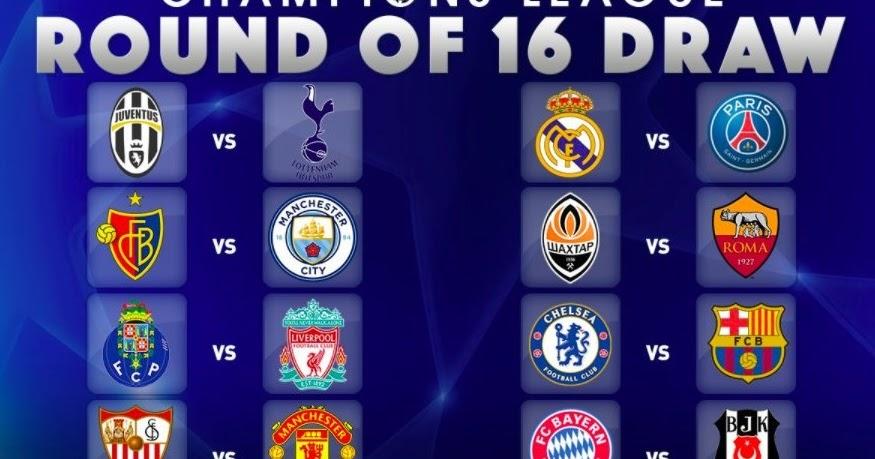 Uefa Champions League Bracket 2021 Round Of 16