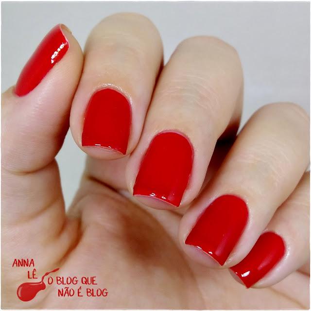 5ft Avenue Ana Hickmann Esmalte Vermelho Red Nailpolish