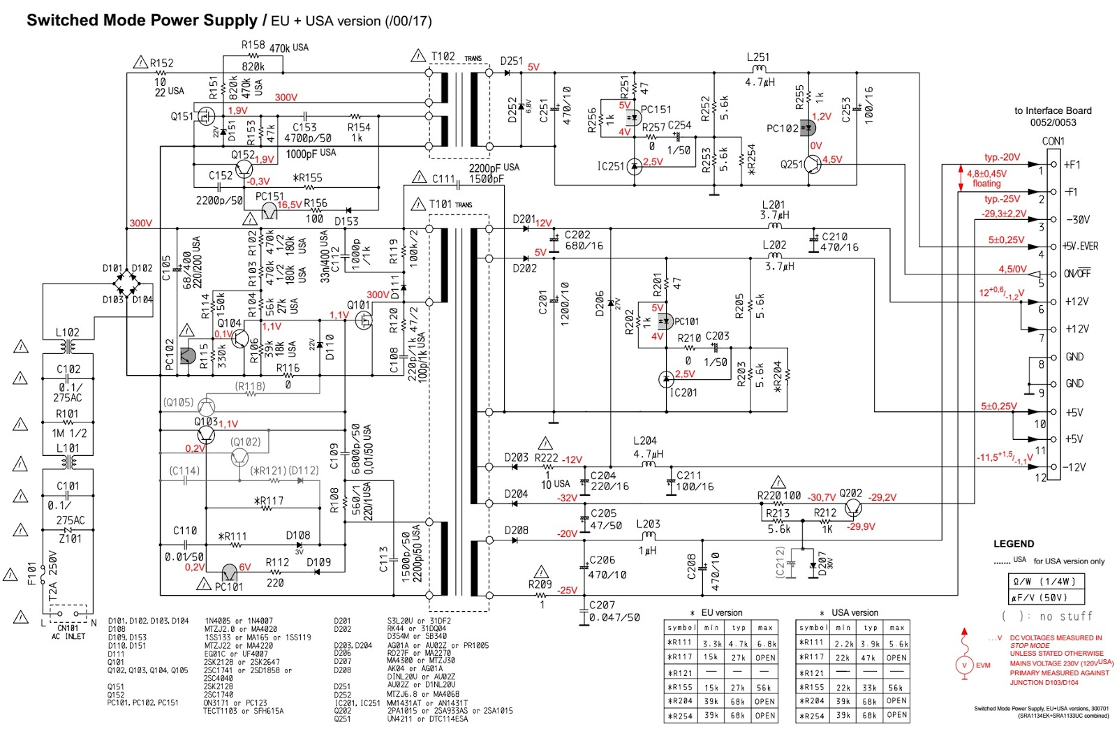 Philips Cdr800 Smps Circuit Diagram Service Mode