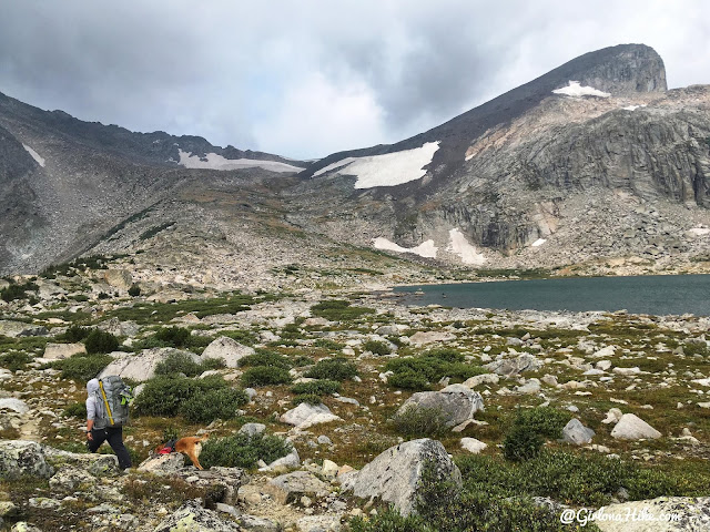 Backpacking to Mt. Hooker & Baptiste Lake, Wind River Range, Macon Lake