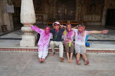 Holi festival di Jaipur