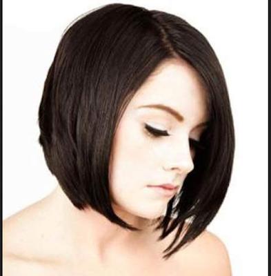 Model Rambut Pendek Sebahu Untuk Wajah Lonjong