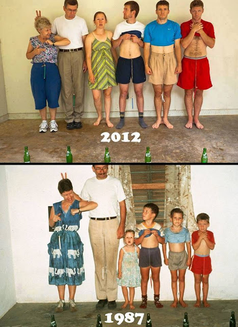 People Who Flawlessly Recreated Their Childhood Photos