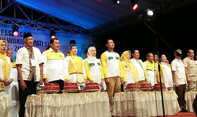 Deklarasi Sehati di Lapangan Sinjai Bersatu